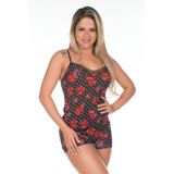 6128de7b455a9b Camisolas, Pijamas E Baby Doll > Pijamas Baby Doll | Loja do Som ...