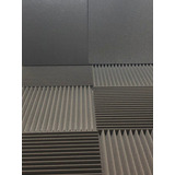 Kit 20 Placas Acústicas Flat 35 Mm 5 M² Anti Chamas