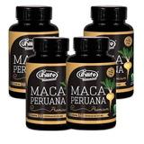 Kit 4 Maca Peruana Premium Pura    Original 480 Cápsulas