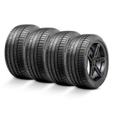 Kit 4 Pneus 205 55r16 Continental Extremecontact Dw 91w