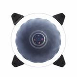 Kit 5 Coolers Fan Ring Gabinete Bluecase Bfr 05w 120mm