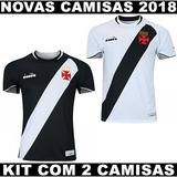 Kit Com 2 Camisas Do Vasco Modelo 2018 Com Frete Gratis 7ff6e72689671