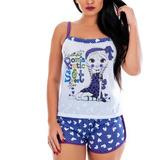 bf7070e9f Camisolas, Pijamas E Baby Doll > Pijama Short Doll | Loja do Som ...