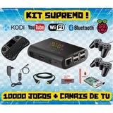 Kit Emulador Raspberry 12mil Jogos   Multimídia   Lançamento