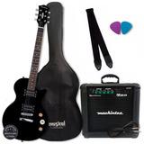 Kit Guitarra Strinberg Lps 200 Regulada Promoção  Oferta