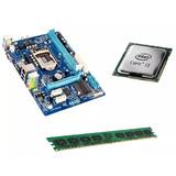 Kit Intel Core I3   Placa 1155   4gb Memória Limpa Estoque