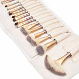 Kit Pincel Maquiagem Profissional  24 Pcs Envio Imediato