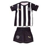 Kit Puma Botafogo Infantil Camisa E Calção Frete Gratis 2e9e3a6434865