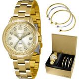 e486aad4ae2 Kit Relógio Lince Feminino Lrg4393lk198c2kx