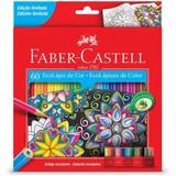 Lápis De Cor Faber castell  C 60 Cores   Super Promoção