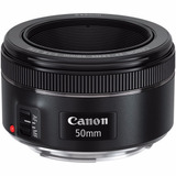 Lente Canon Ef 50mm F 1 8 Stm