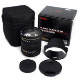 Lente Sigma 17 50mm F 2 8 Ex Dc Os Hsm Autofoco Canon Com Nf