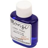Liquido Limpa Joias Em Prata Monzi 35ml Original   Flanela