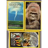 Lote 3 Vhs National Geographic Video