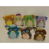 Lote 7 Bonecos Furby Coleção Mcdonald  Mc Lanche Feliz