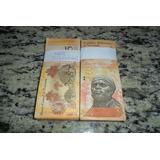 Lote Com 100 Cédulas De 5 Bolivares Mbc soberba
