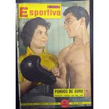 Manchete Esportiva Nº 188  Ago 1959  Fotonovela Eder Jofre