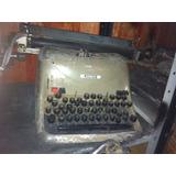 Máquina De Escrever Lexikon 80 Antiga Frete Grátis