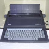 Máquina De Escrever Olivetti Praxis 201 ii Para Colecionador