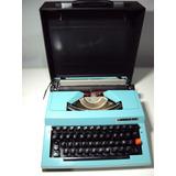 Maquina Escrever Omega 30   Colecionador   Leia Anuncio