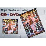 Mc Gui: Kit Cd  dvd O Bonde É Seu   Ao Vivo Promoção