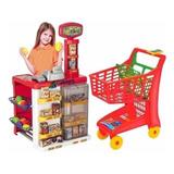 Mercadinho Infantil   Carrinho De Compra Super Market
