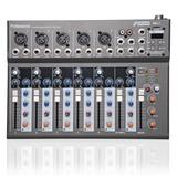 Mesa Arcano Aml7 Fx Com Efeito 7 Canais E Phantom Power