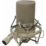 Microfone Condensador Mxl 990 Audio Shure C  Case E Aranha