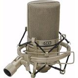 Microfone Condensador Mxl 990 C  Case E Aranha