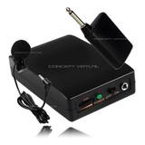 Microfone Lapela S Fio Profissional Wireless Headset P2 P10