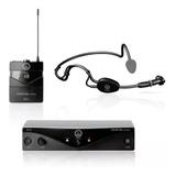 Microfone Sem Fio Akg Pw Sset A 45 Sport Headset