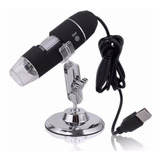 Microscópio Digital Usb 500x Zoom 2 0 Mp   Pronta Entrega