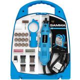 Mini Retífica Elétrica Gamma 251pçs   Extensão Tipo Dremel