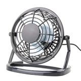 Mini Ventilador Portátil Usb Silencioso Preto