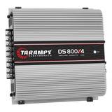 Modulo Taramps Ds 800 X4 800w Rms Rca Ds800x4 Amplificador