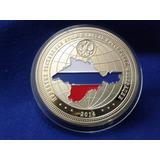 a6c28e508cc Moeda Medalha Russia 2014 Presidente Vladimir Putin