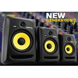 Monitores Ativo Krk Rokit Rp5 G3   Par novo 110v Ou 220v P e