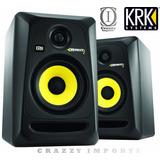 Monitores Krk Rokit 5 Rp5 G3 110v O Par Original   Brindes