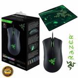 155d21882cd Mouse Razer Deathadder Chroma 10000dpi Original Mouse Pad