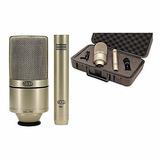 Mxl 990 991 Kit De Microfone Studio Condenser Profissional