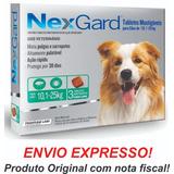 Nexgard Antipulgas E Carrapatos 10 A 25kg C 3 Val Out19