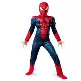 Novo  fantasia Homem Aranha Infantil Luxo Músculos Spiderman