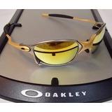 f4ad807122432 Oculos Lupa Oakley Double X 24k X Metal Lente Gold Dourada