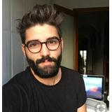 967901c0529f0 Óculos Luxuoso De Grife Masculino Hype Geek Nerd Retro Lindo