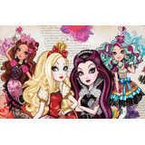 Painel Ever After High Festa Aniversário Painel Banner