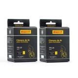 Par Câmara De Ar Pirelli 26 Válvula Presta 48mm Aro 26 Mtb
