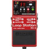 Pedal Boss Rc3 Loop Station Rc 3 Para Guitarra   Fonte
