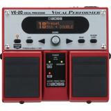 Pedal Boss Ve 20 Vocal Efeito Voz Original   Fonte   Frete