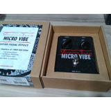 Pedal Voodoo Lab Micro Vibe   Novo  Made In Usa