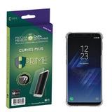 Película Hprime Curves Versão 3 Galaxy S8 Plus   Capa Tpu